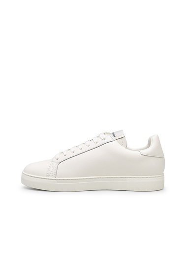 Emporio Armani  Deri Ayakkabı Erkek Ayakkabı X4X540 Xm782 N480 Beyaz